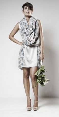 10. Imani Dress with Snood.