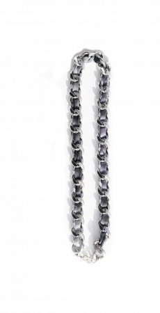 Silver chain necklace greys